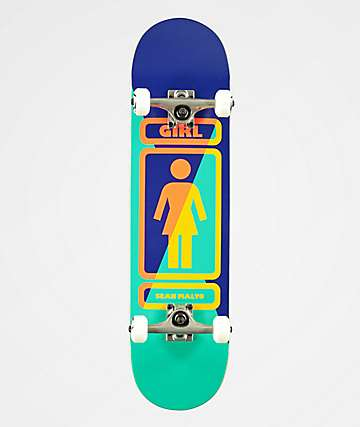 Girl Skateboard Skateboarding Logo - LogoDix