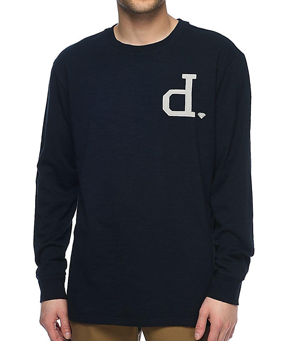 489d42c46197 Diamond Supply Co D- Logo - Diamond Supply Co. Un-Polo Pink Long