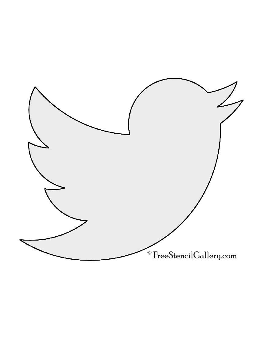 Twitter Bird Logo - LogoDix