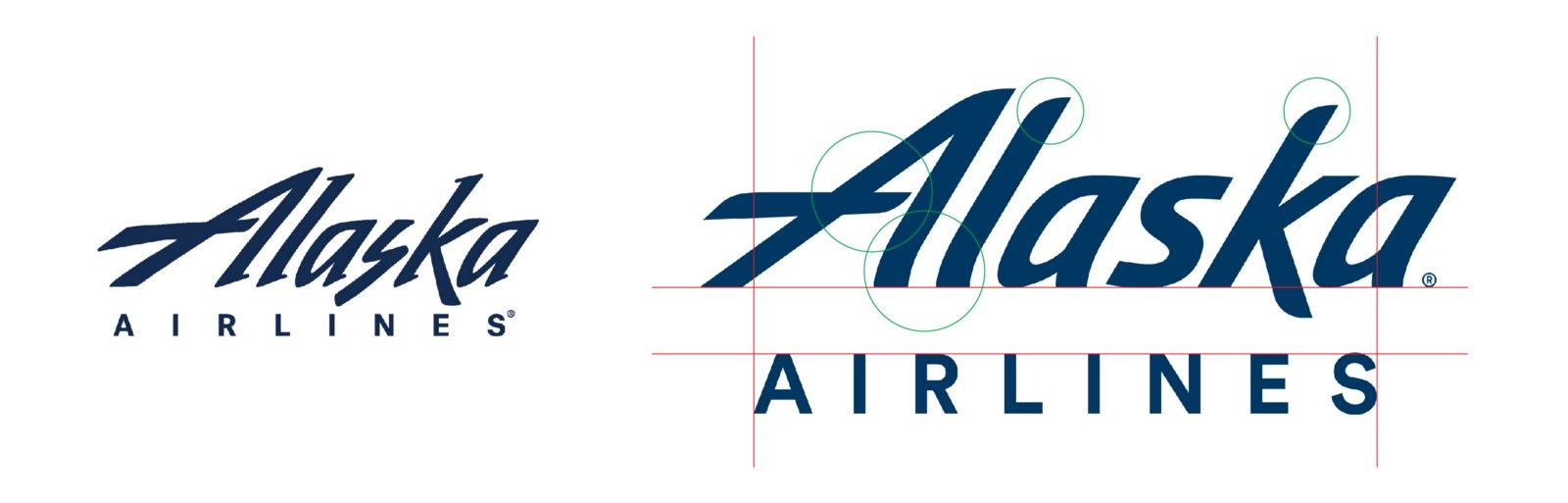Alaska Airlines Logo - A Closer Look at the 2016 Alaska Airlines Rebrand – Look and Logo ...