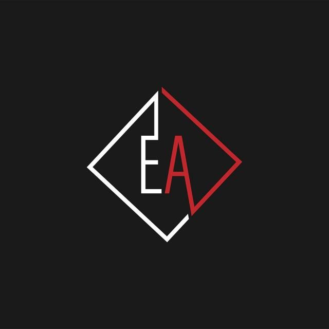 EA Logo - Initial Letter EA Logo Template Template for Free Download on Pngtree