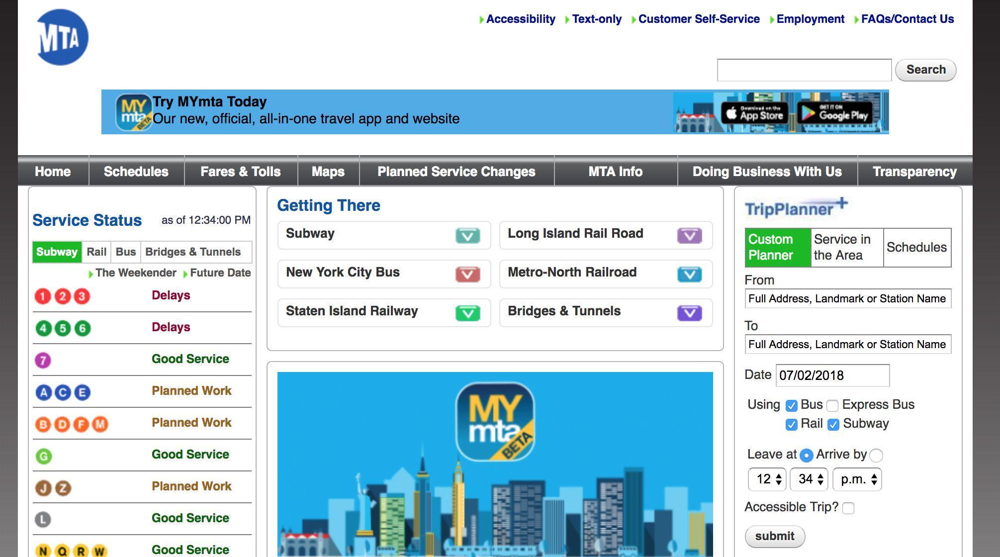 MTA App Logo - LogoDix
