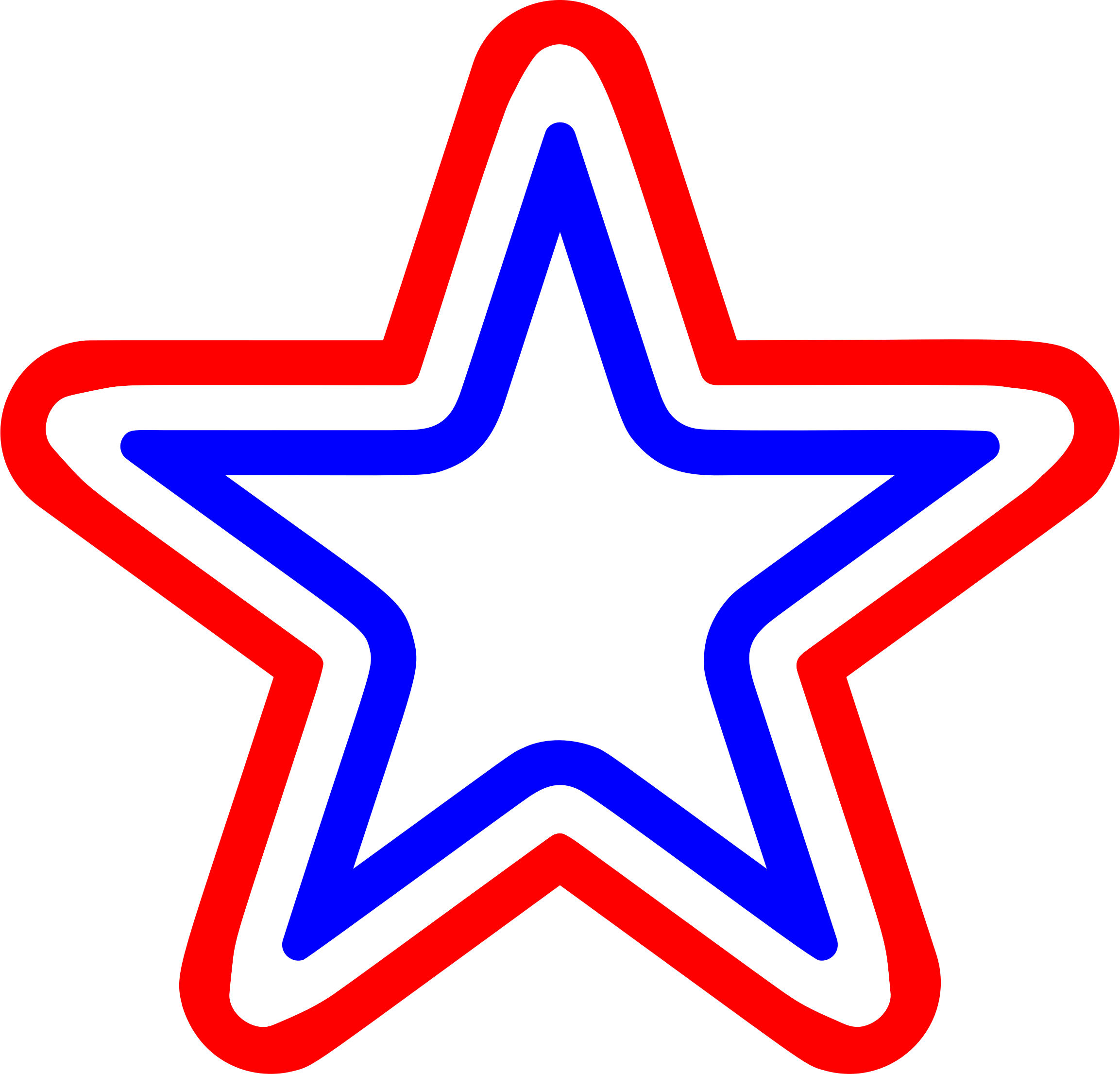 Image result for red white blue stars clipart