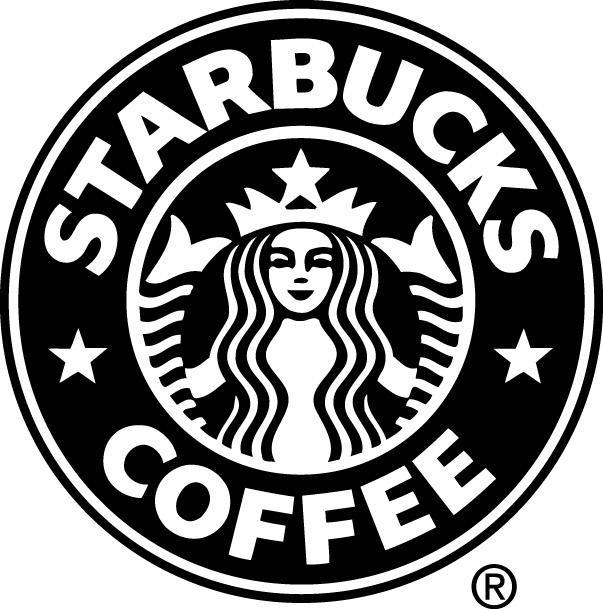 Black Starbucks Logo Logodix