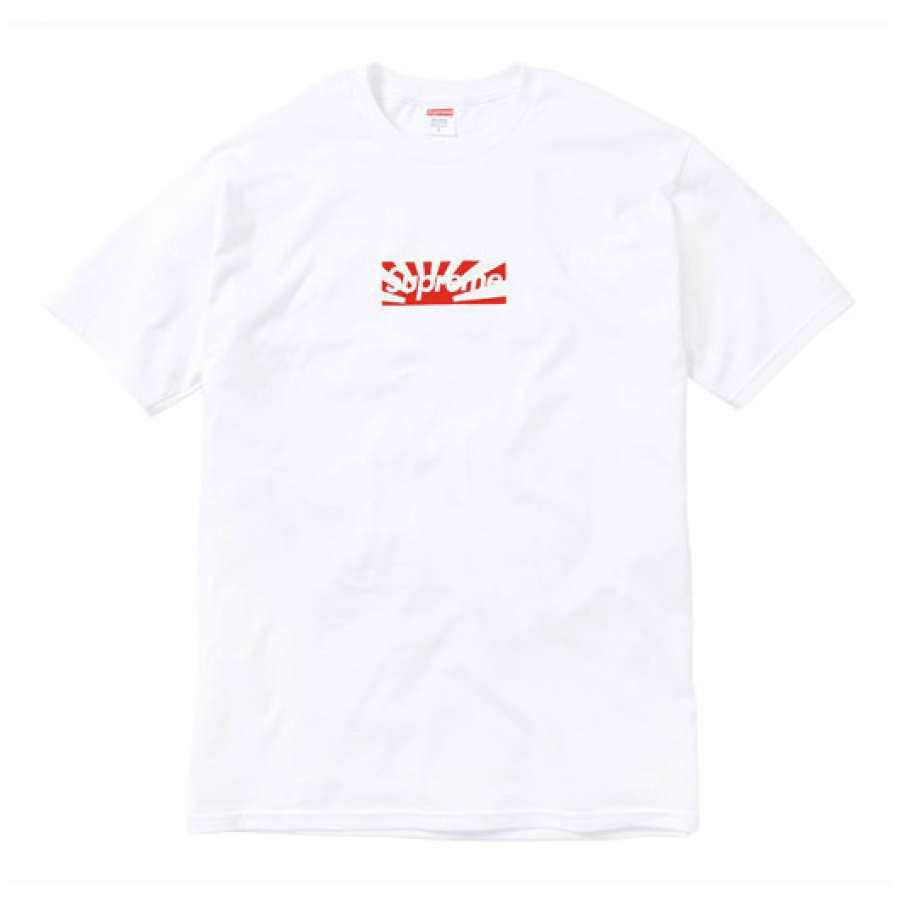 a2867714f612 White Box Logo - Supreme Japan Relief Box Logo T-Shirt (White)
