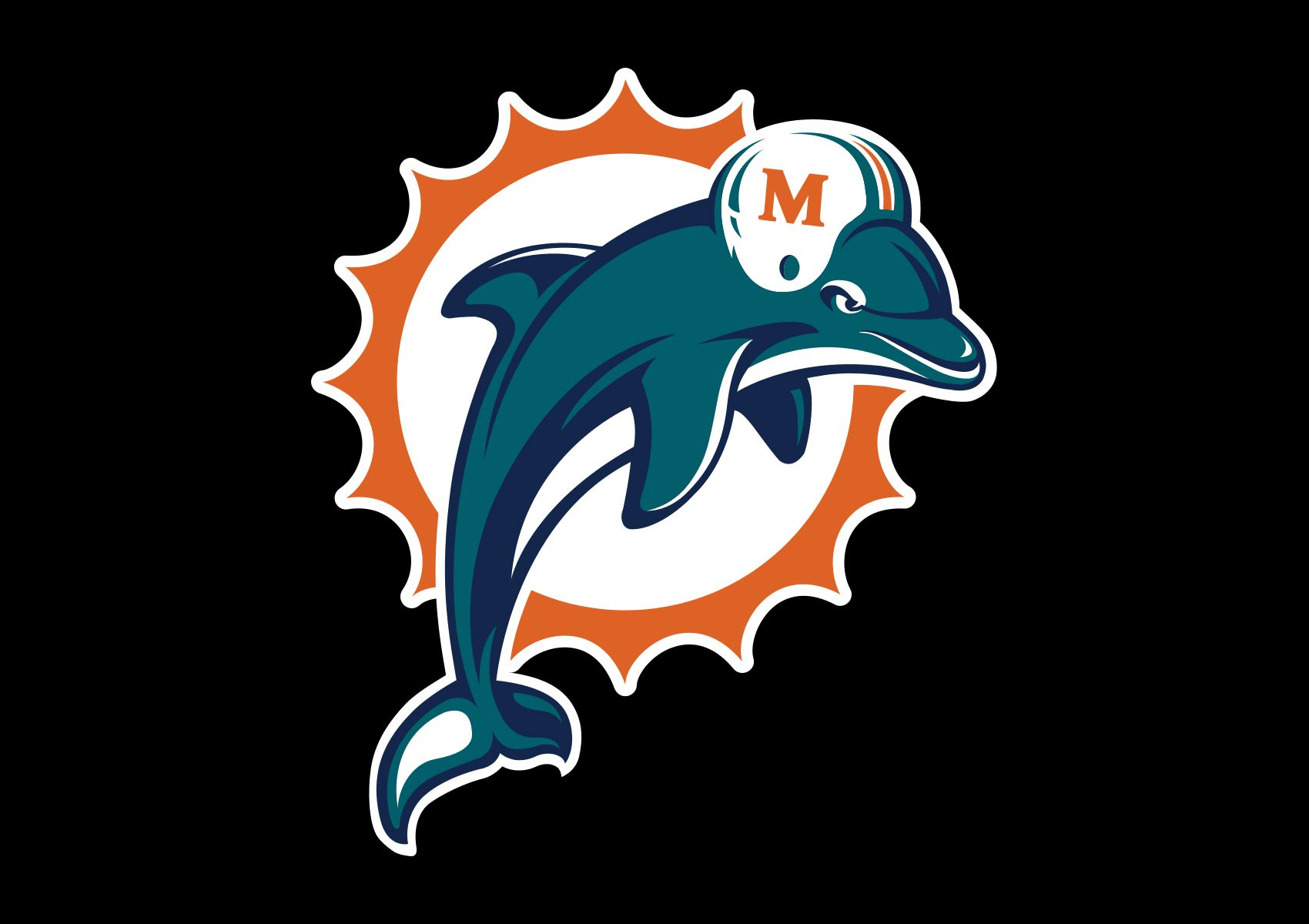 Dolphins Old Logo - Miami Dolphins Logo, Miami Dolphins Symbol, Meaning, History and ...