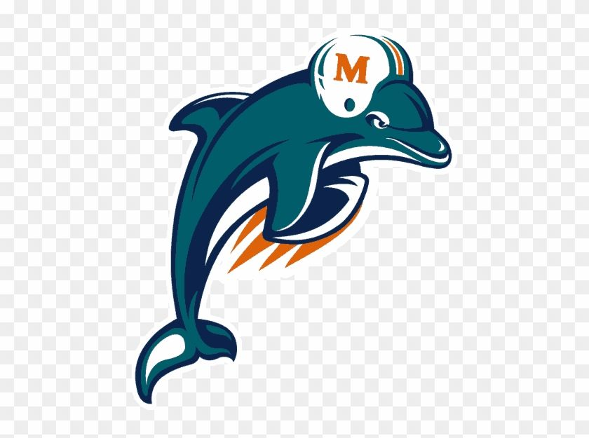 Dolphins Old Logo - Football Team Logos Clip Art - Miami Dolphins Old Logo - Free ...