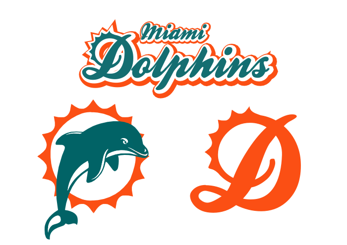 Dolphins Old Logo - Miami Dolphins concept - Concepts - Chris Creamer's Sports Logos ...