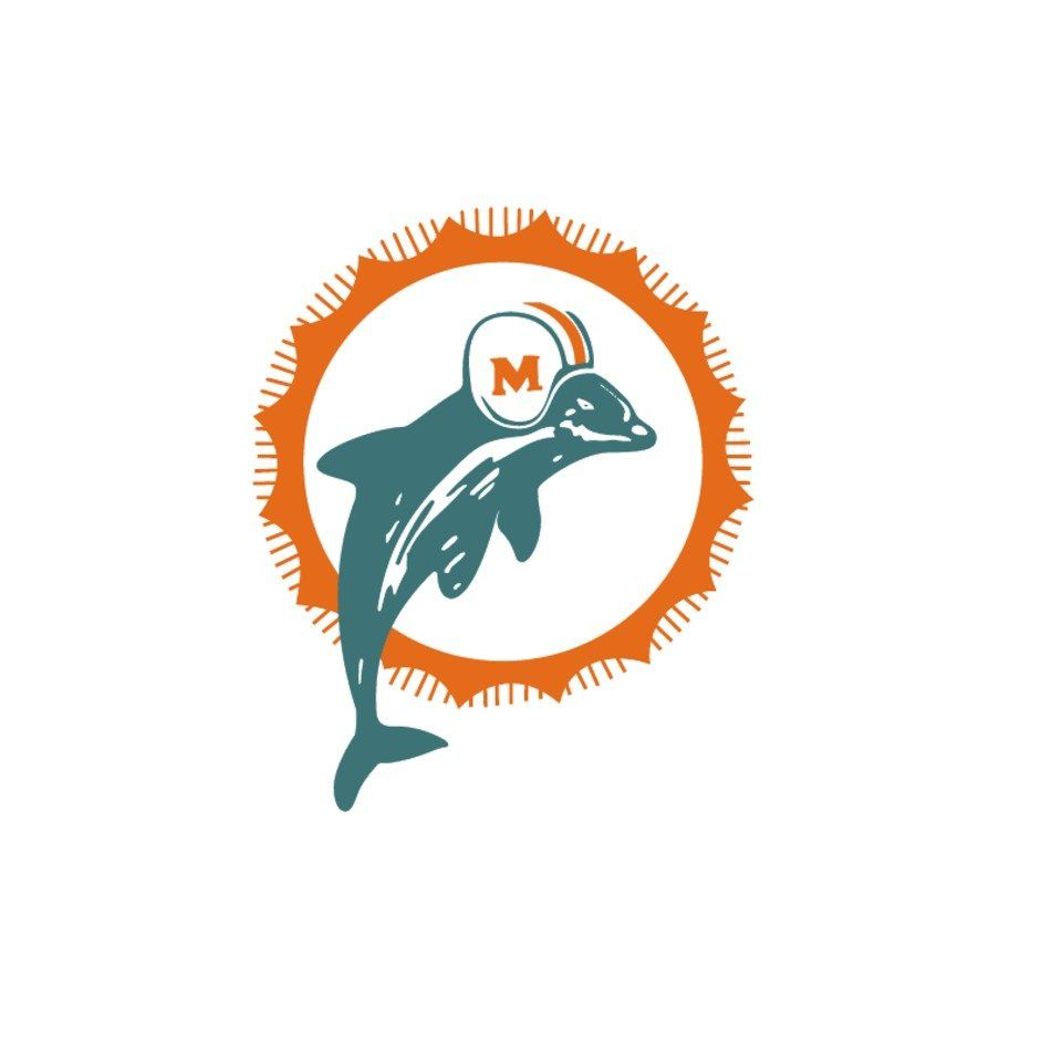 Dolphins Old Logo - Miami Dolphins Old Logo free image