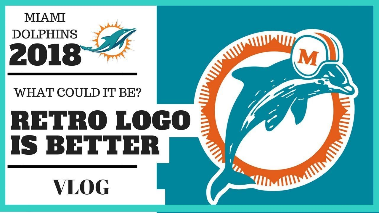 Dolphins Old Logo - Miami Dolphins Old Logo...? | VLOG - YouTube