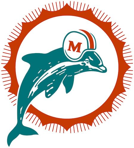 Dolphins Old Logo - Fins Up: Being A Miami Dolphins Football Fan | Sports Feel Good Stories