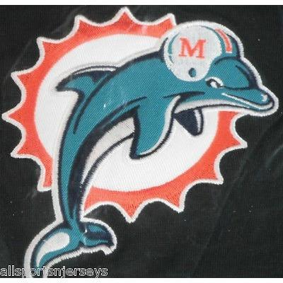 Dolphins Old Logo - NFL Miami Dolphins Headrest Cover Embroidered Old Logo Set of 2 by ...