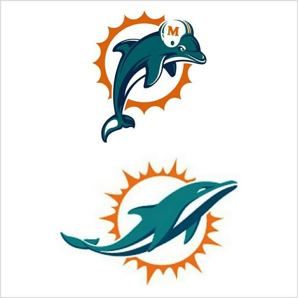 Dolphins Old Logo - NFL Retweet on Twitter:
