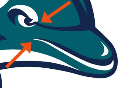 Dolphins Old Logo - VIDEO: NFL Logo Redesigns From 1996-2012, A History Of Pissed-Off ...