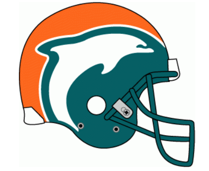 Dolphins Old Logo - 33 Best NFL Logos of All Time