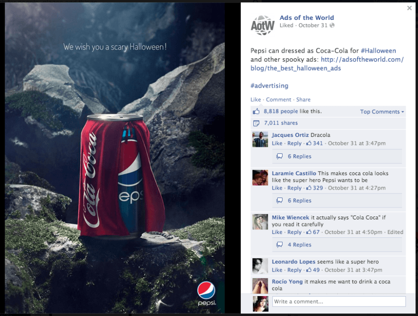 Pepsi Vs Coca Cola Halloween Ad.Halloween Pepsi Logo Logodix