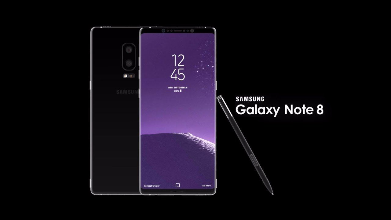 Galaxy Note 8 Logo - Samsung Galaxy note 8 introduction (concept) - YouTube