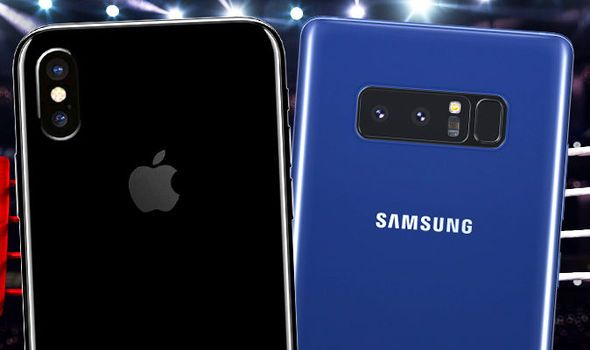 Galaxy Note 8 Logo - iPhone 8 vs Galaxy Note 8 - Apple will lose to Samsung in a BIG way ...