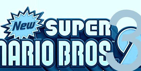 new super mario bros 3 logo