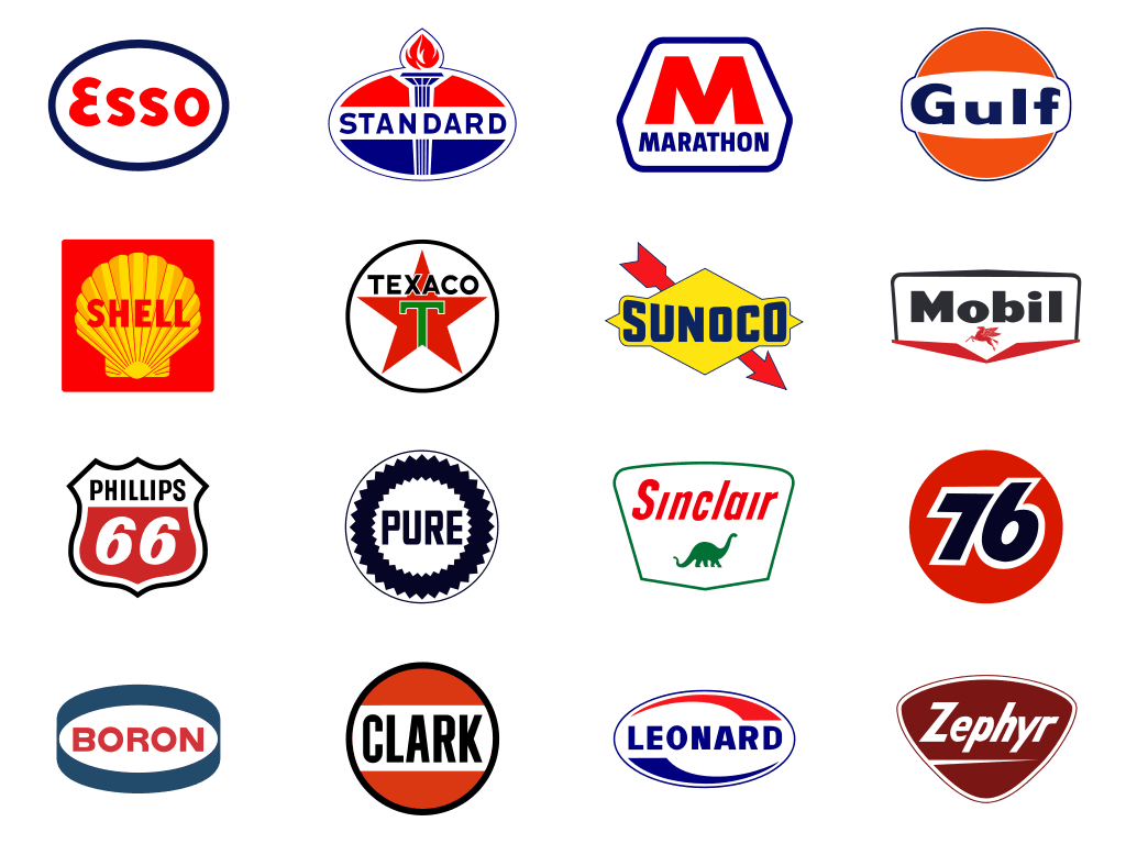 Gas Station Logo - Chuck Michaels uploaded this image to 'Classic Gas Station Logos ...