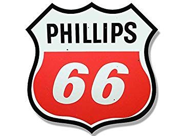 Gas Station Logo - Amazon.com: American Vinyl Vintage Phillips 66 Gas Station Logo ...