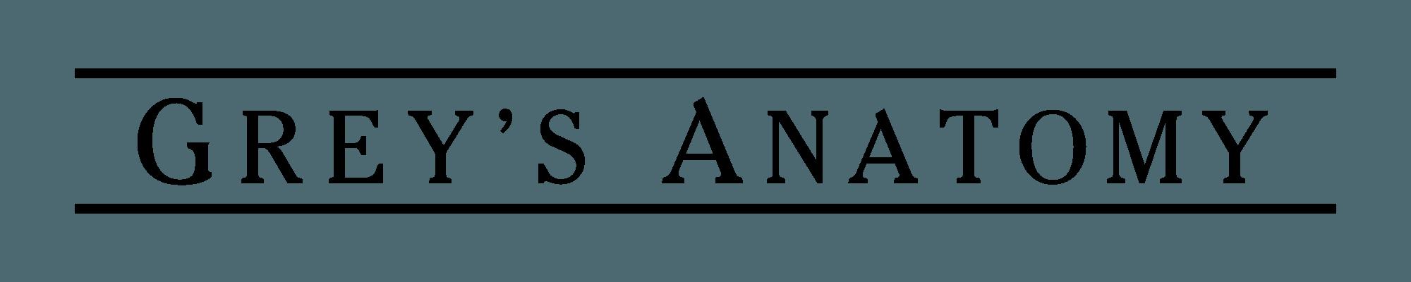 Grey S Anatomy Logo Logodix