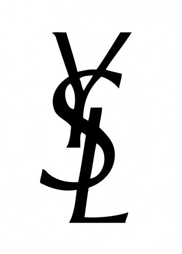Fashion and Beauty Logo - Yves Saint Laurent Logo