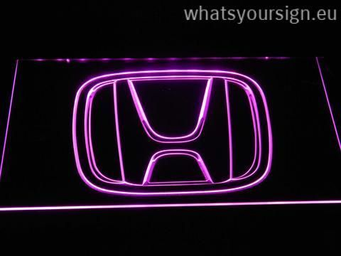 Colorful Honda Logo - Honda Logo - LED neon light sign display made of the first-class ...