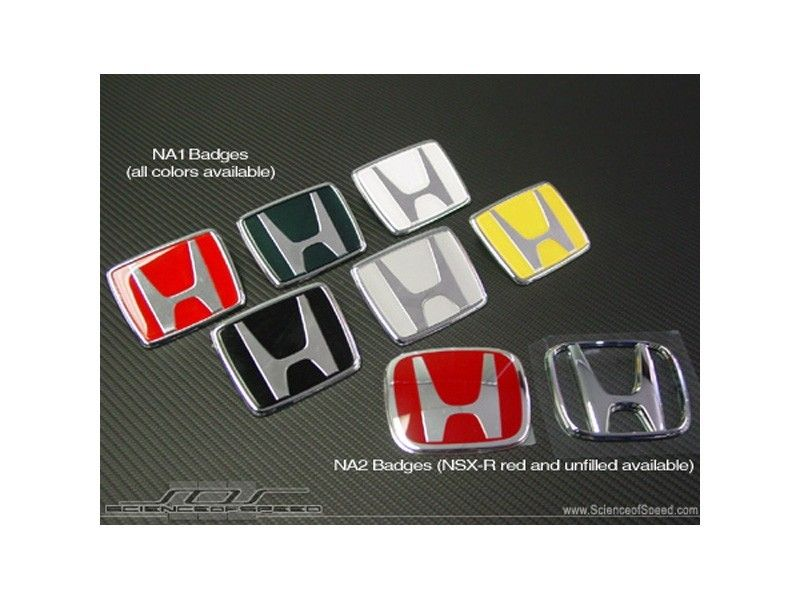 Colorful Honda Logo - Honda JDM NSX Front Badge - Exterior Accessories - Exterior Products ...