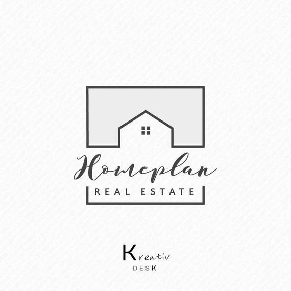 Realtor Logo - Real Estate Logo. Realtor Logo. Home Logo Design. Business | Etsy