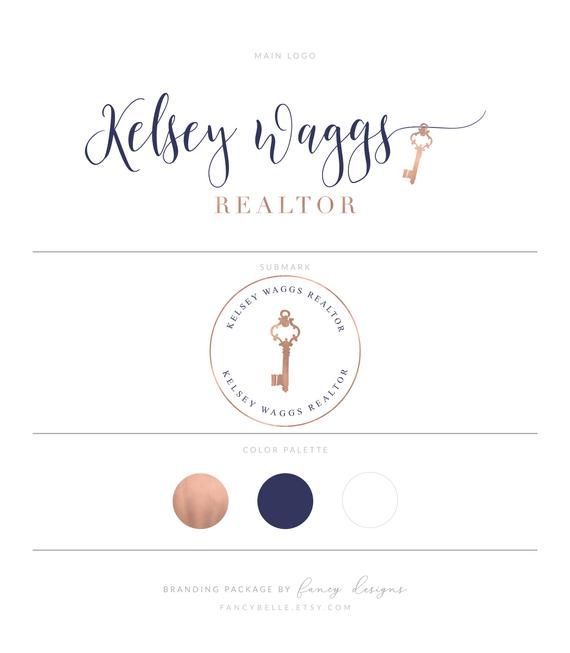 Realtor Logo - Real Estate Logo Design Realtor Logo House Logo Realtor | Etsy