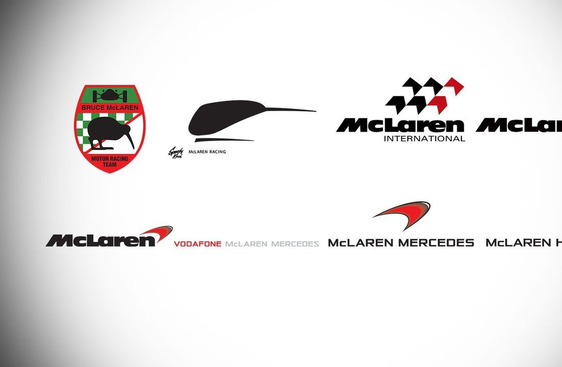 McLaren Logo - McLaren Formula 1 - The evolution of the McLaren marque