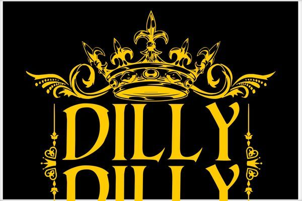Yellow Gold Crown Logo - Dilly Dilly Gold Crown Logo Poster | TeeShirtPalace