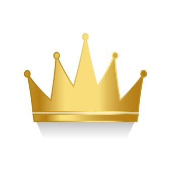 Yellow Gold Crown Logo - Crown Icons | Free Download