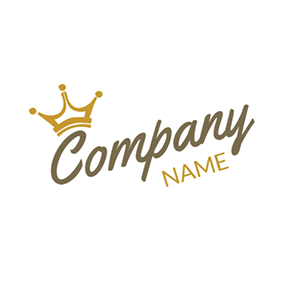 Yellow Gold Crown Logo - 50+ Free Crown Logo Designs | DesignEvo Logo Maker