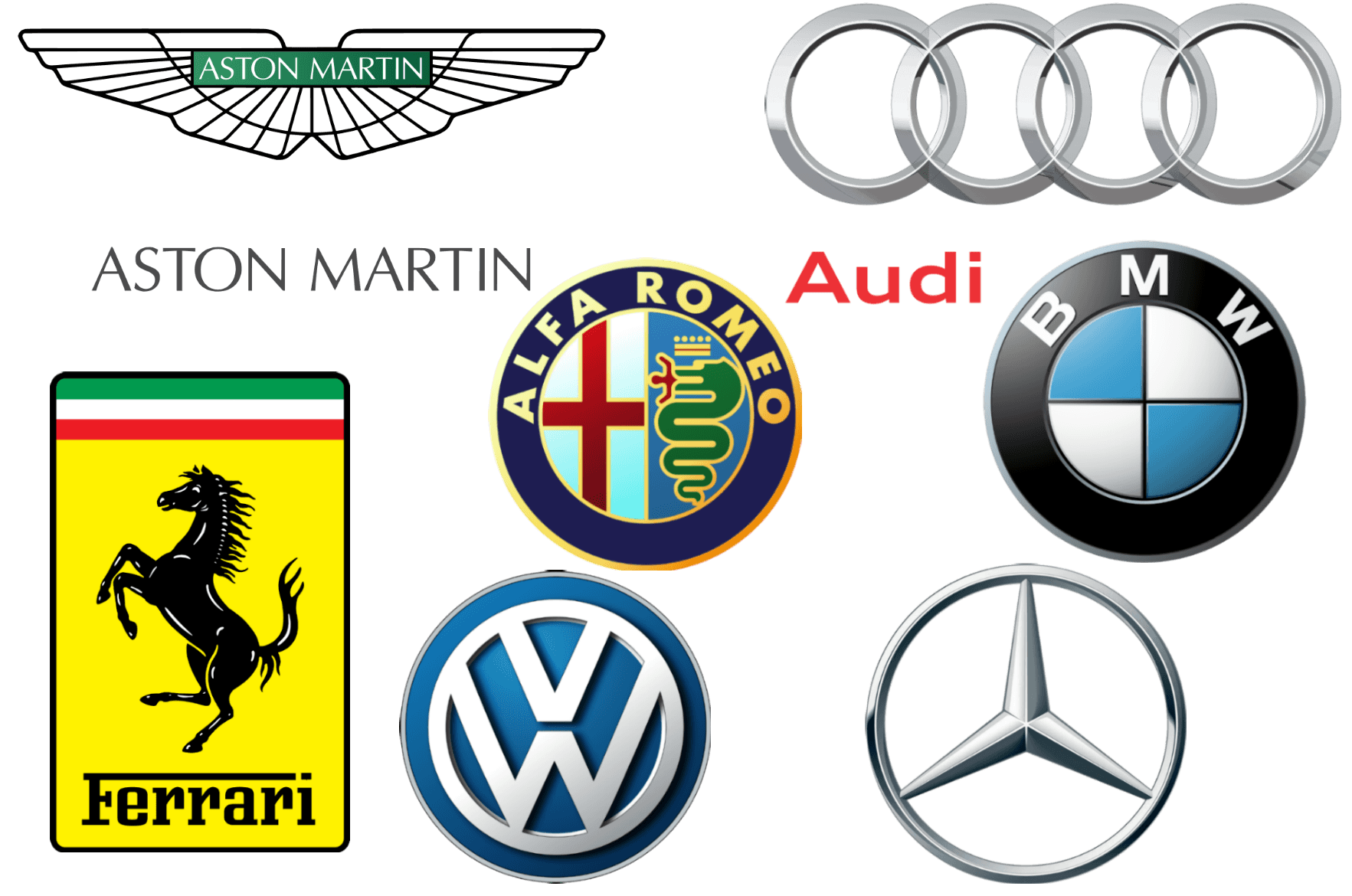 Exotic Car Brand Logo - European Car Brands, Companies and Manufacturers | Car Brand Names.com