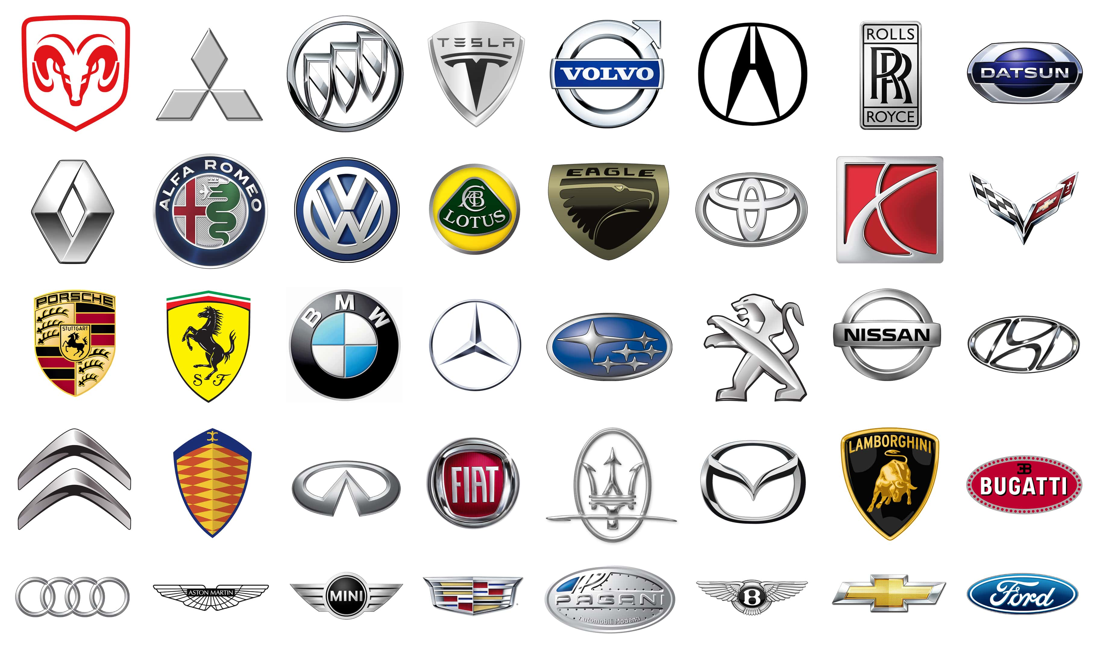 Exotic Car Logo - Car Symbols – Aoutos HD Wallpapers