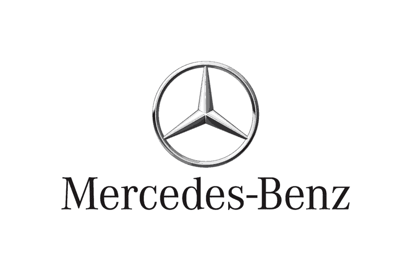 Black and Silver Car Logo - Mercedes Logo Design History & Evolution of the Car Brand