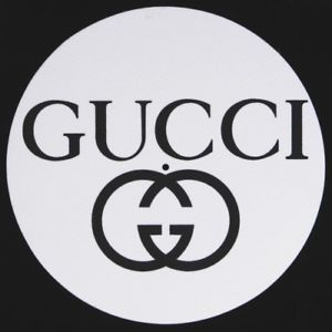 Gucci Logo - GUCCI Logo NEW SINGLE SLIPMAT | eBay