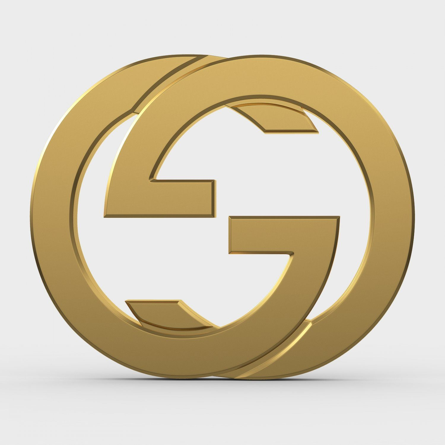 Gucci Logo - Gucci new logo 3D Model in Clothing 3DExport