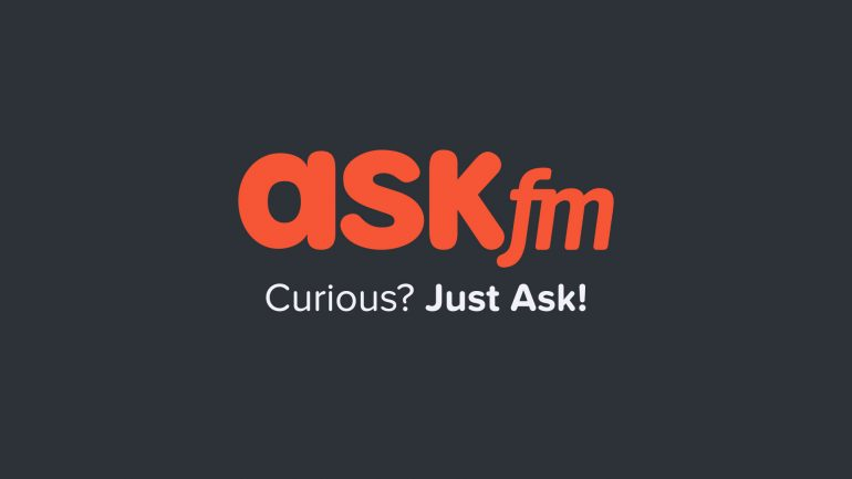 Ask.fm Logo - ASKfm ICO – The Biggest Q&A Social Network In The World | UseTheBitcoin