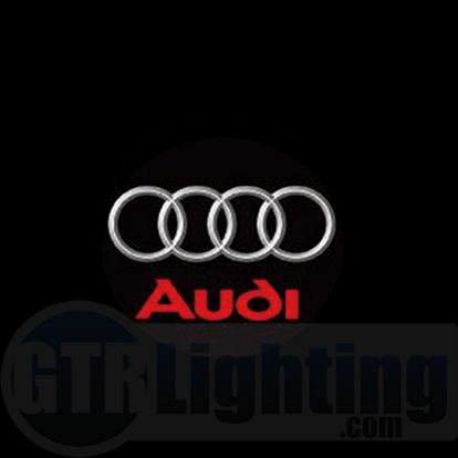 Audi Logo - GTR Lighting LED Logo Projectors, Audi Logo, #41