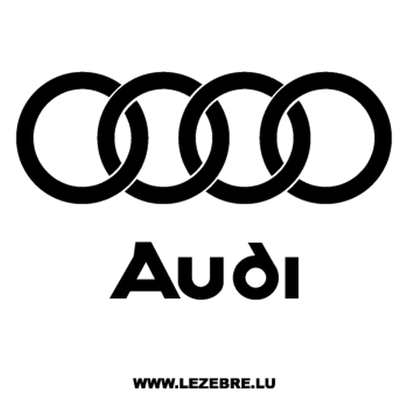 Audi Logo - Audi Logo Decal 2