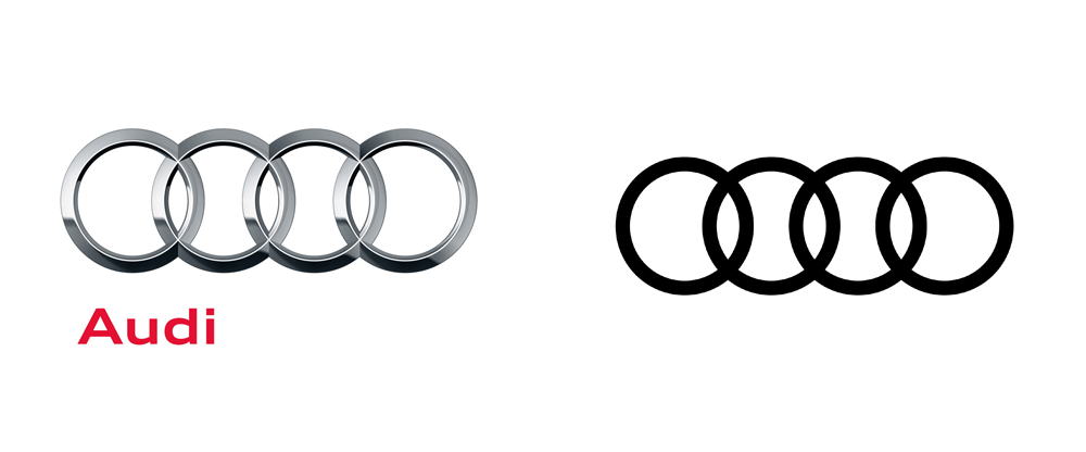 Audi Logo - Brand New: New Global Identity for Audi by Strichpunkt and KMS TEAM