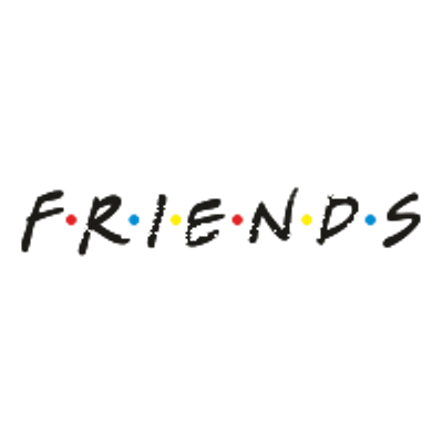 Friends Logo - Friends Logo transparent PNG - StickPNG