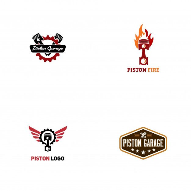 35+ Ide Logo Piston Keren Vector