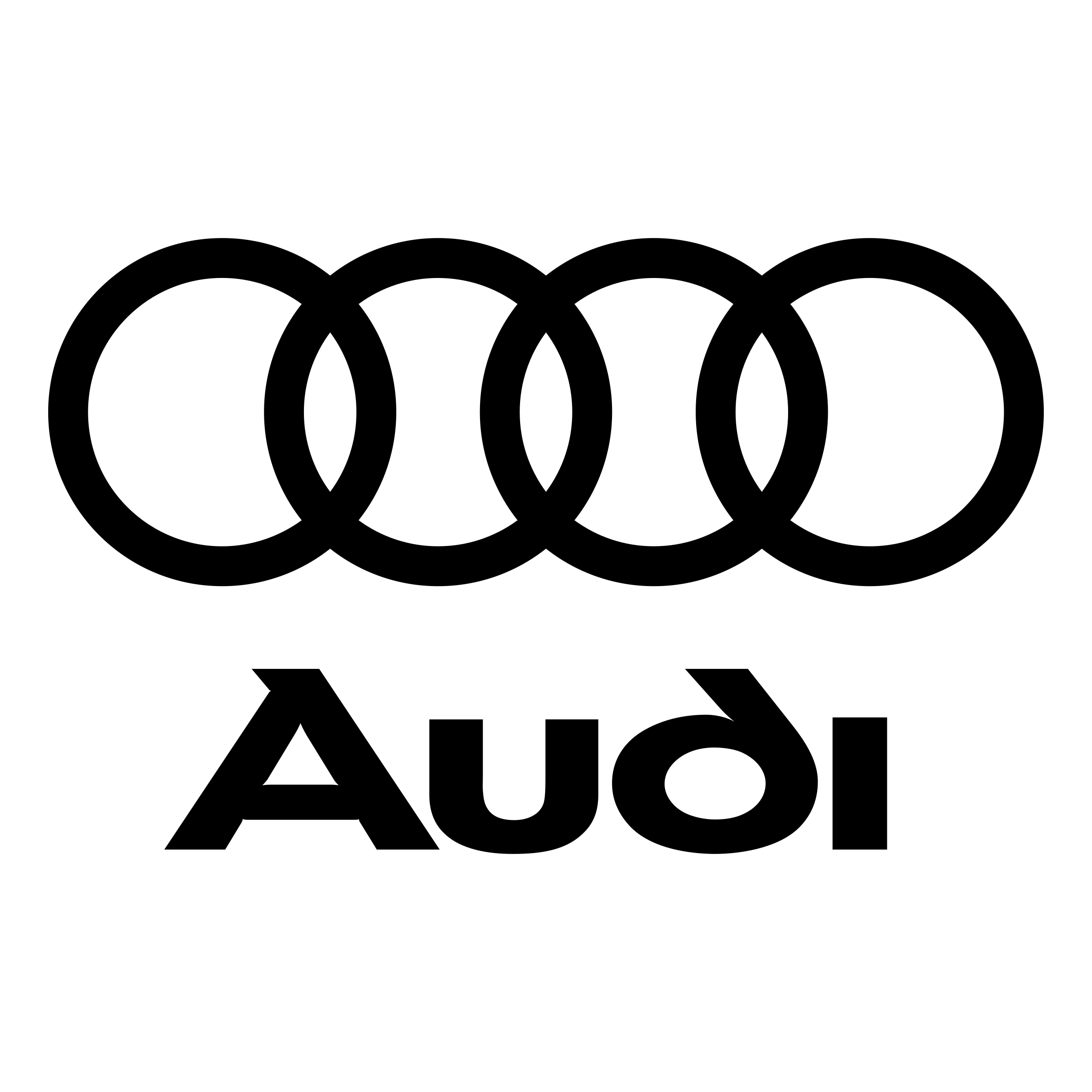Audi Logo - Audi Logo PNG Transparent & SVG Vector - Freebie Supply