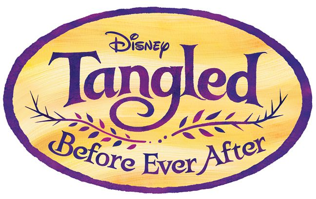 Tangled Logo - Tangled: Before Ever After' Reveals Voice Cast, Logo for Disney ...