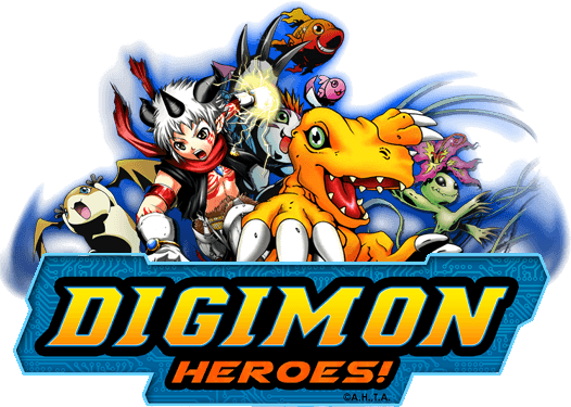 Digimon Logo - Digimon Heroes! Now Available on Mobile Devices – Anjel Syndicate