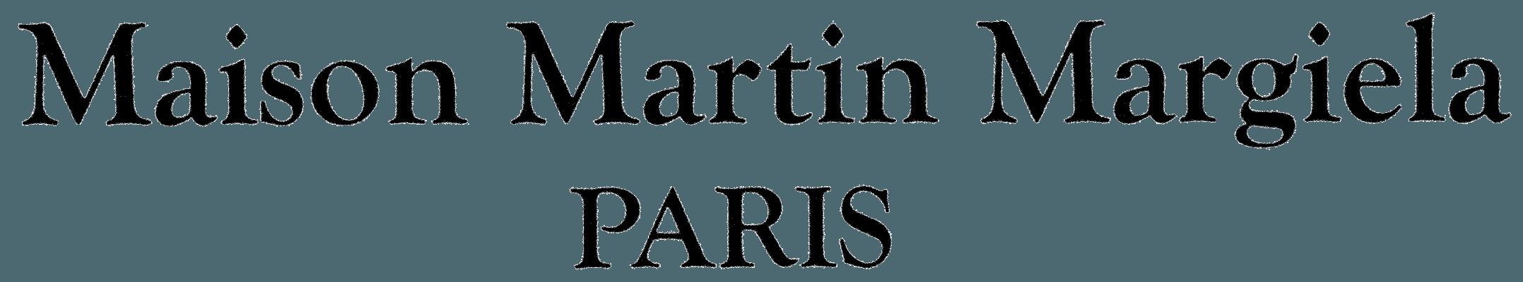 new product 7d13b 7898e Maison Martin Margiela Logo - LogoDix